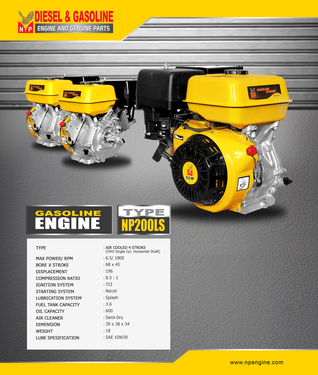 ENGINE-NP200LS
