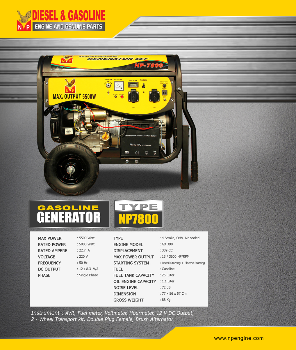 GENERATOR-NP7800